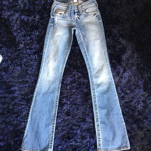 TRUE RELIGION BOOTCUT JEANS SIZE 23